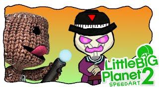 [LBP2][SpeedArt] - LittleBigPlanet3 Special: Newton