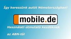 Haszálati útmutató – mobile de