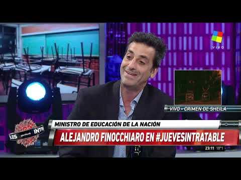 Finocchiaro: El paro en Buenos Aires es político
