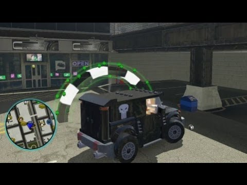 LEGO Marvel Super Heroes - Unlocking Punisher and His ...