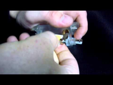 Замена лампочки в багажнике на киа сид