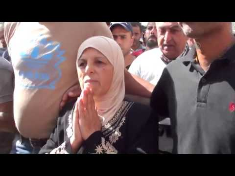 Funeral ceremony of Palestinian died in Israeli prison
