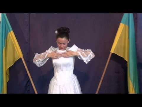 Zhana Romanovskaya Dancing In The Holy Spirit in (Ismael) Ukranian Pentecostal Church