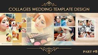 Elegant Inspiration Collages Album Wedding Photoshop Part 5