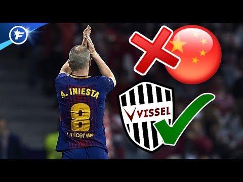 Andrés Iniesta finalement vers le Vissel Kobe | Revue de presse