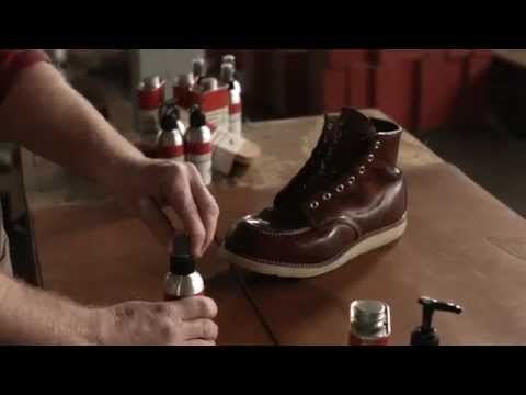 Red Wing Heritage - How to care for Oil Tanned leather boots.
