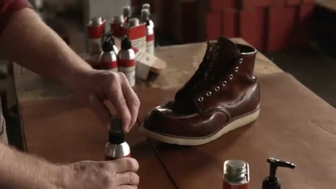 Red Wing Heritage - How to care for Oil Tanned leather boots ...