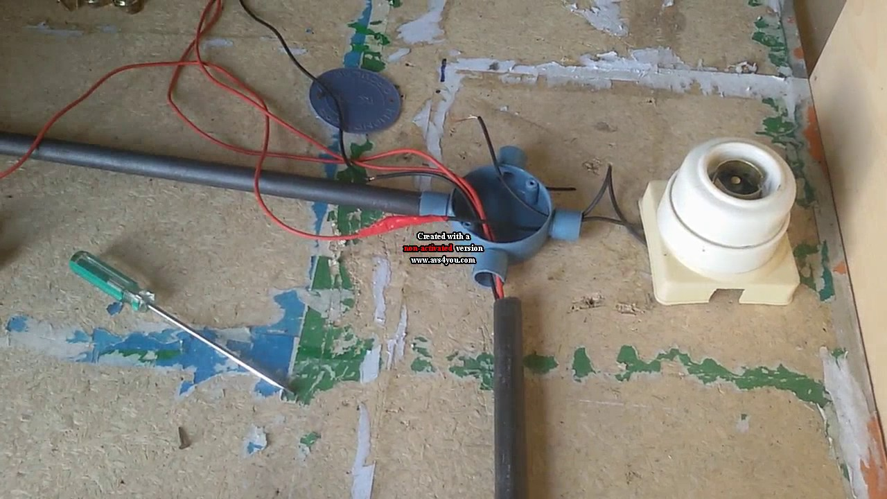 how to make surface conduit wiring electrical house wiring rh youtube com Installing Plastic Electrical Conduit Flexible Wire Conduit