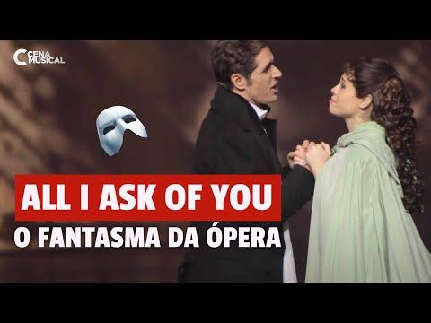 Prêmio Reverência 2018  O Fantasma da Ópera All I Ask Of You