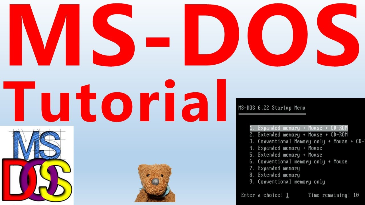 Microsoft DOS and Windows Command Line