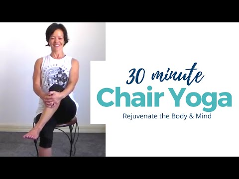 Chair Yoga, all-levels, 30min