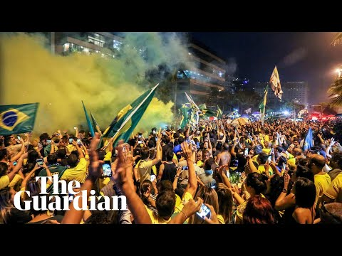 Celebrations and protests in streets of Brazil after Bolsonaro win