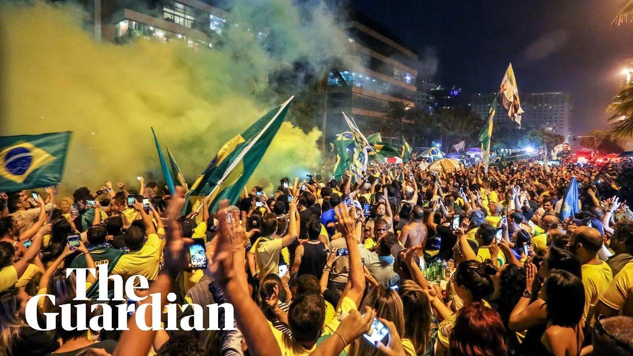 Far-right candidate Jair Bolsonaro wins presidential vote