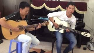 Xin Thời Gian Ngừng Trôi -  Hòa Tấu guitar