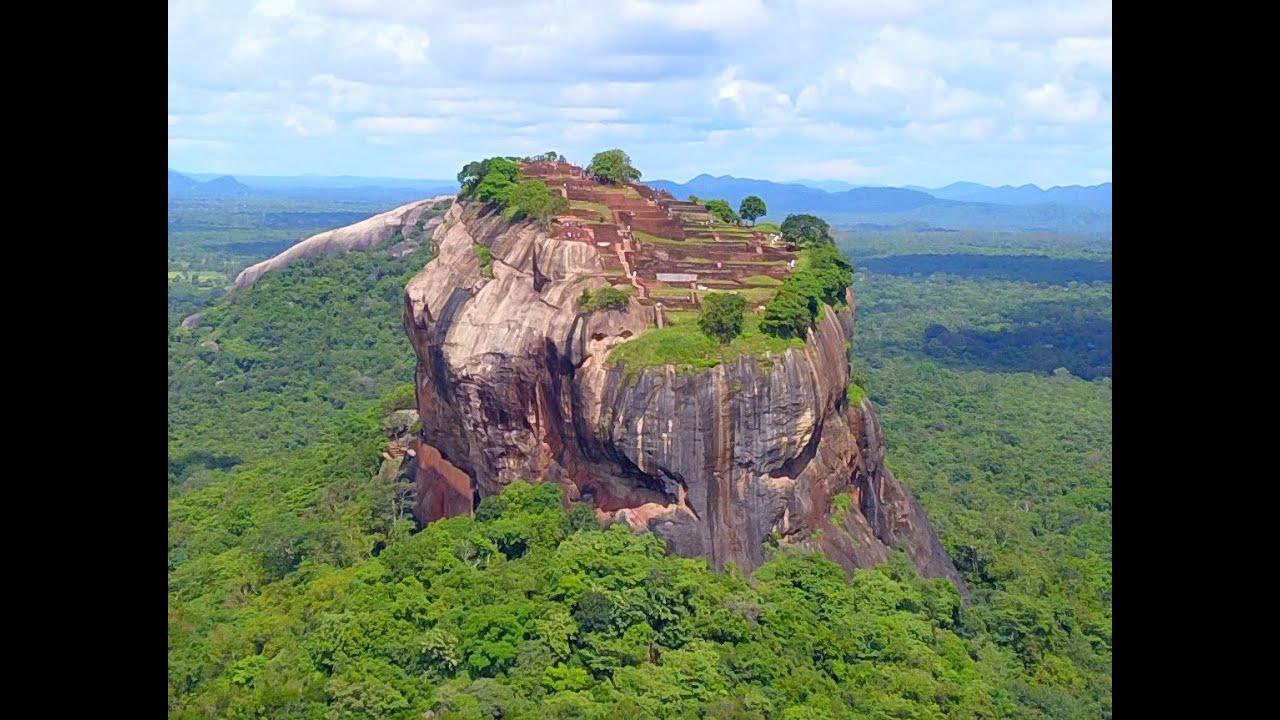 the Sigiriya Rock Sri Lanka