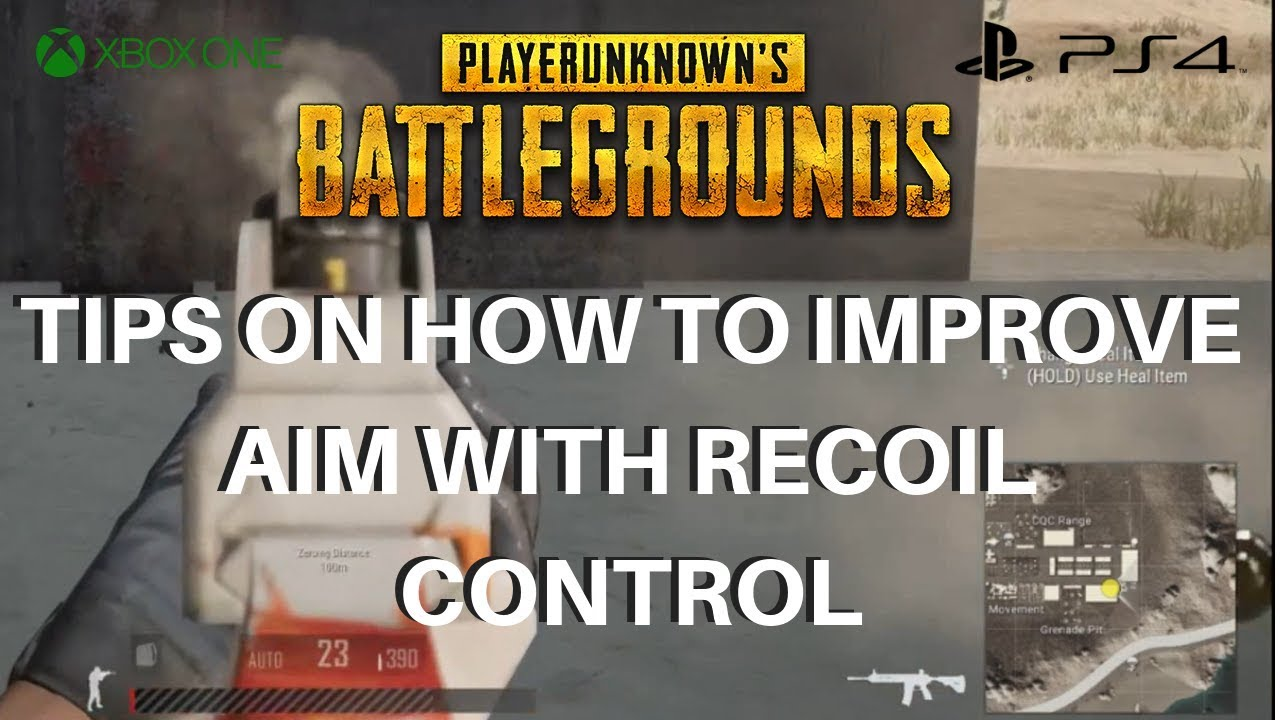How To Improve In Pubg: HOW TO IMPROVE YOUR AIM USING RECOIL