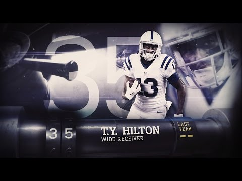 #35 T.Y. Hilton (WR, Colts) | Top 100 Players of 2015