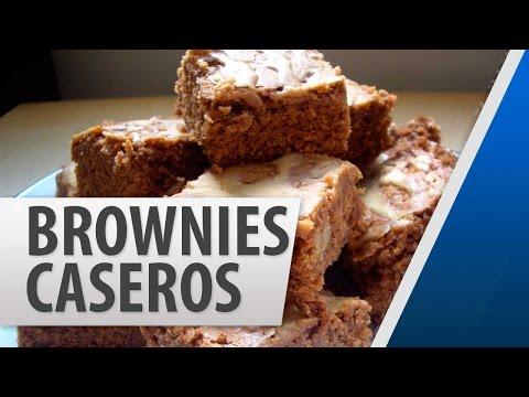 brownies-caseros-de-chocolate-/-recetas-de-postres-fáciles