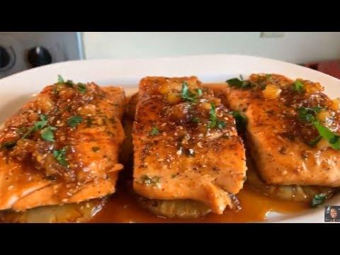 How To Make Pineapple Teriyaki Glazed Salmon