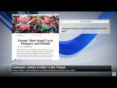 Kormány: Soros György újra támad thumbnail