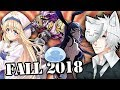 Fall 2018 Anime Season: What Will I Be Watching?