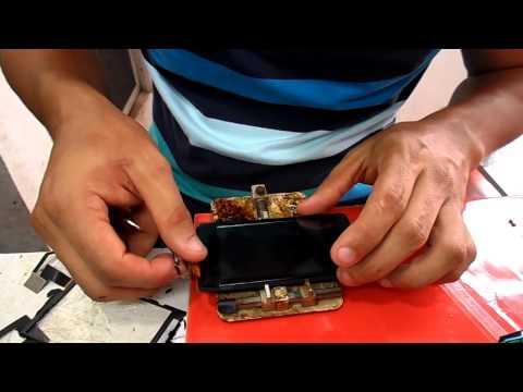 cambio de touch o tactil vidrio sony xperia go  st27  repair touch screen