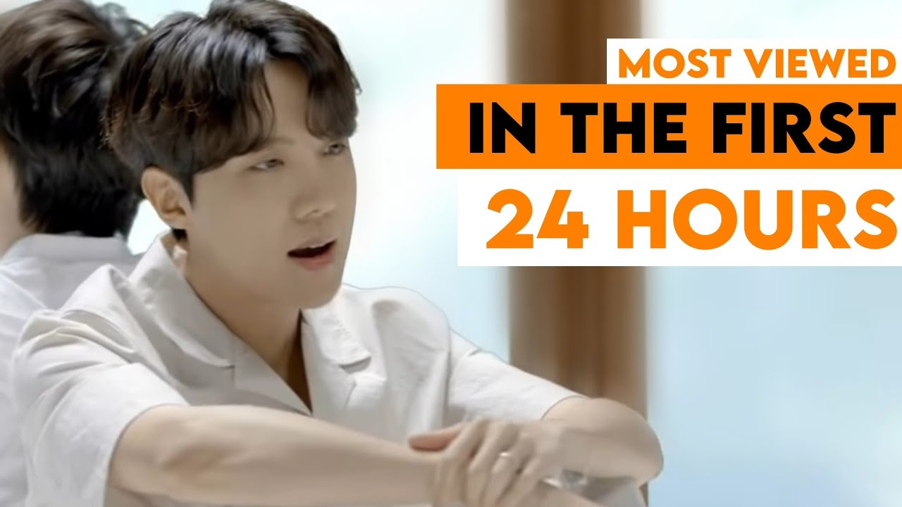 MOST VIEWED MUSIC VIDEO BY KOREAN ARTISTS IN FIRST 24 HOURS