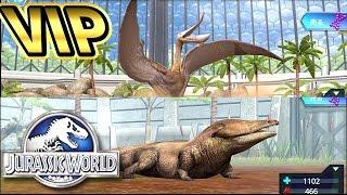 VIP限定恐竜【メトポサウルス&プテロダウストロ】GET!オメガ09も再臨!#Ep46 ギガのJWTG jurassic world the game