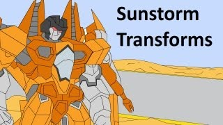 Transformers Generation One: Sunstorm Transforms