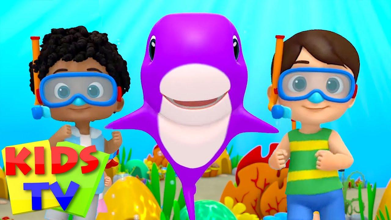 Bayi hiu | Lagu anak anak terpopuler | Kids Tv Indonesia | Video prasekolah | Kartun pendidikan