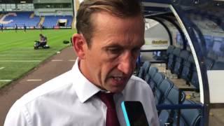 Justin Edinburgh reflects on the trip to Shrewsbury Town