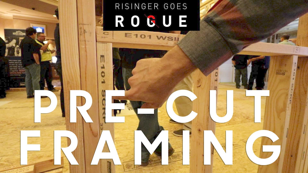 pre cut framing package bmc ready frame overview youtube