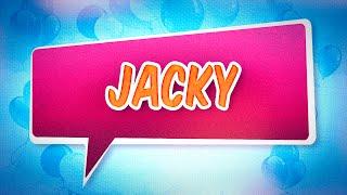 Joyeux anniversaire Jacky