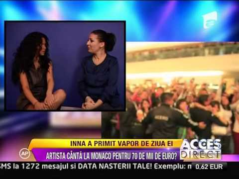 Inna - Interview @ Antena 1 (Romanian TV Channel)