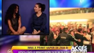Inna - Interview @ Antena 1 (Romanian TV Channel)