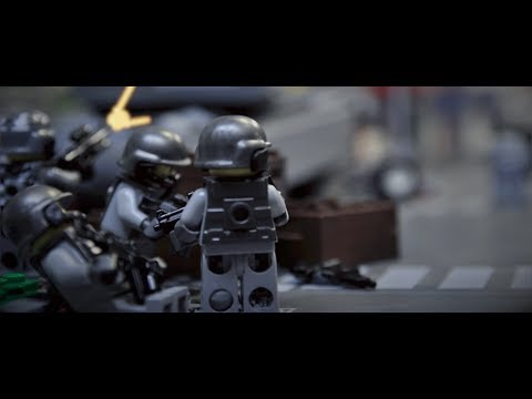 LEGO War: Target Earth MOVIE (Brickfilm stop-motion animation)