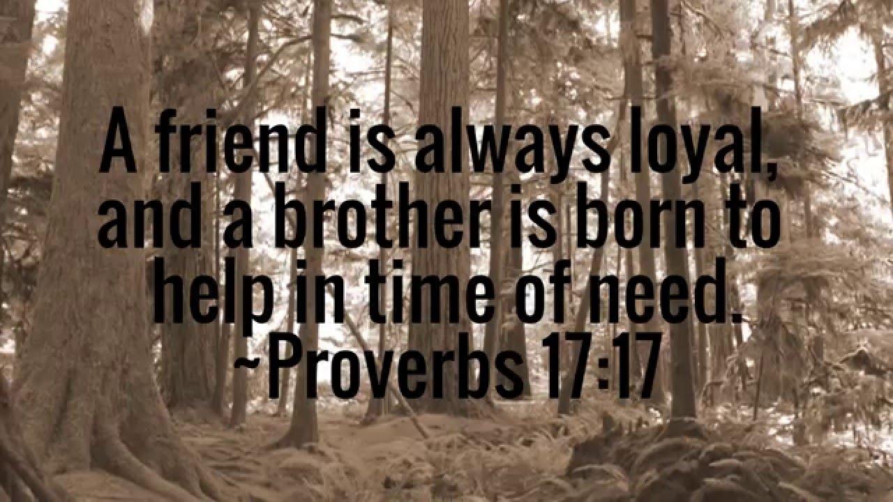 friendship bible verses youtube
