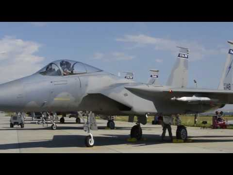 159th Fighter Squadron trains with the Romanian Air Force