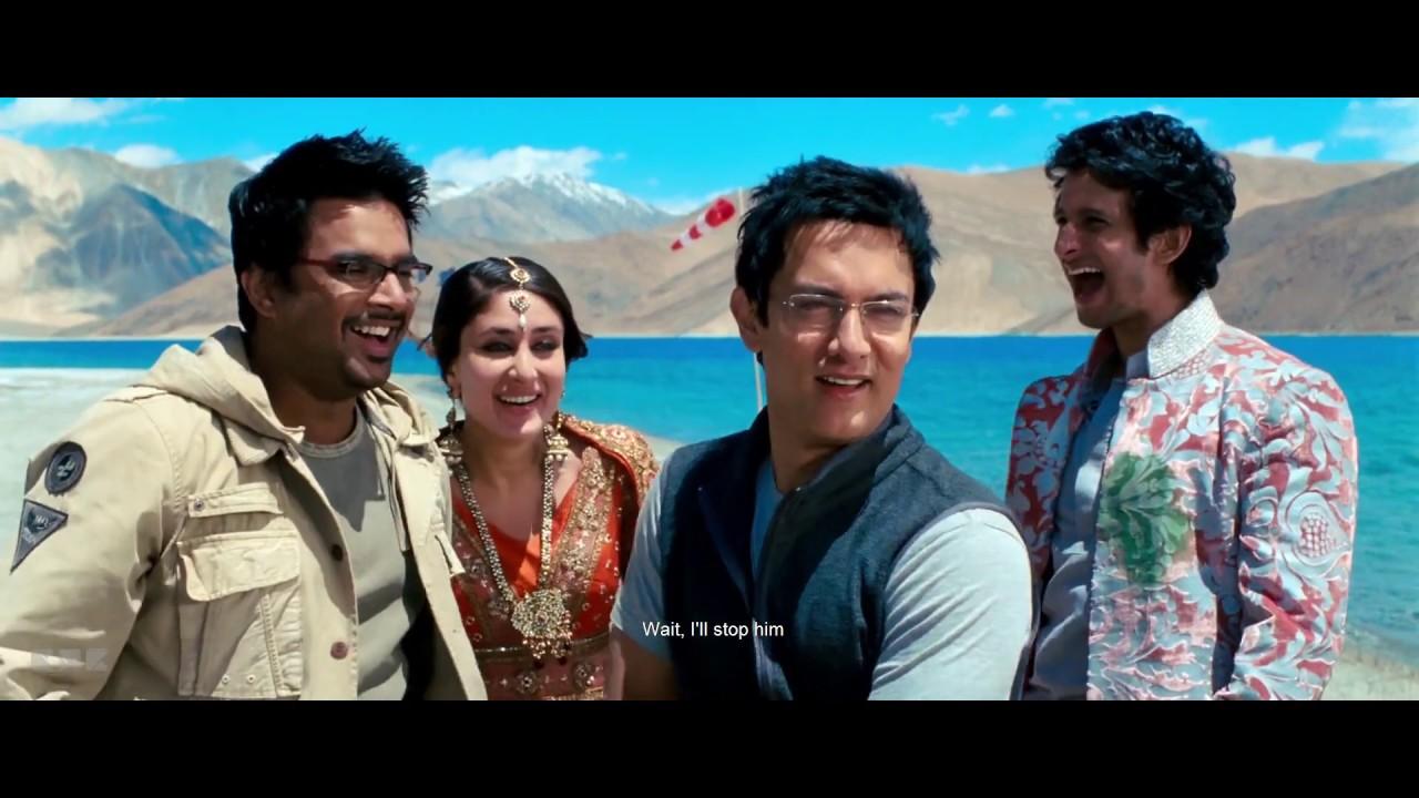 Download 3 Idiots (10/10) movie clip | Revealing of phunsukh wangdu (Rancho)