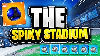 THE SPIKY STADIUM! Playground Funny Moments! (Fortnite Battle Royale)