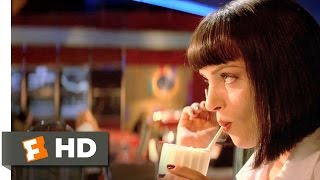 Pulp Fiction (4/12) Movie CLIP - Uncomfortable Silence (1994) HD