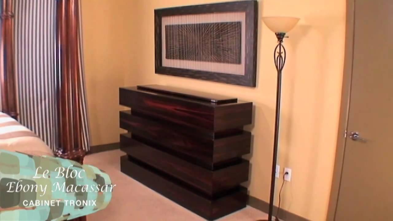 cabinet tronix tv lift cabinet le bloc lem