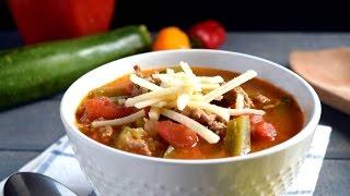 Paleo Crockpot Taco Soup