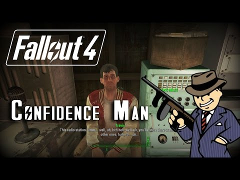 """Fallout 4 Sidequest: Confidence Man """"Get a New DJ!"""""""