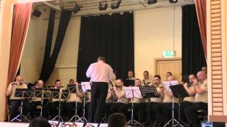 William King Memorial (76 trombones *Epic*) @ Shankill Road Defenders Melody Contest 2015