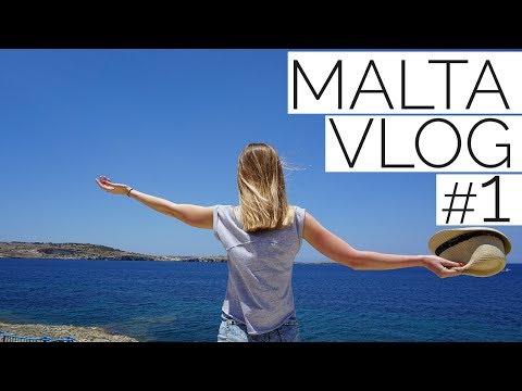 Malta Vlog #1 Pierwsze wrażenia Msida i Valletta
