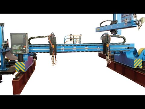 Gantry CNC Oxy Fuel & Plasma Cutting Machine China Amazing