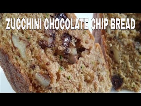 Zucchini Bread With Chocolate Chips And Walnuts
