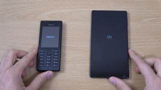 Nokia 150 vs Xiaomi Mi Mix - Speed Test!
