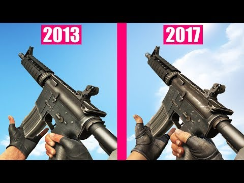 Counter-Strike Global Offensive Gun Sounds OLD vs NEW